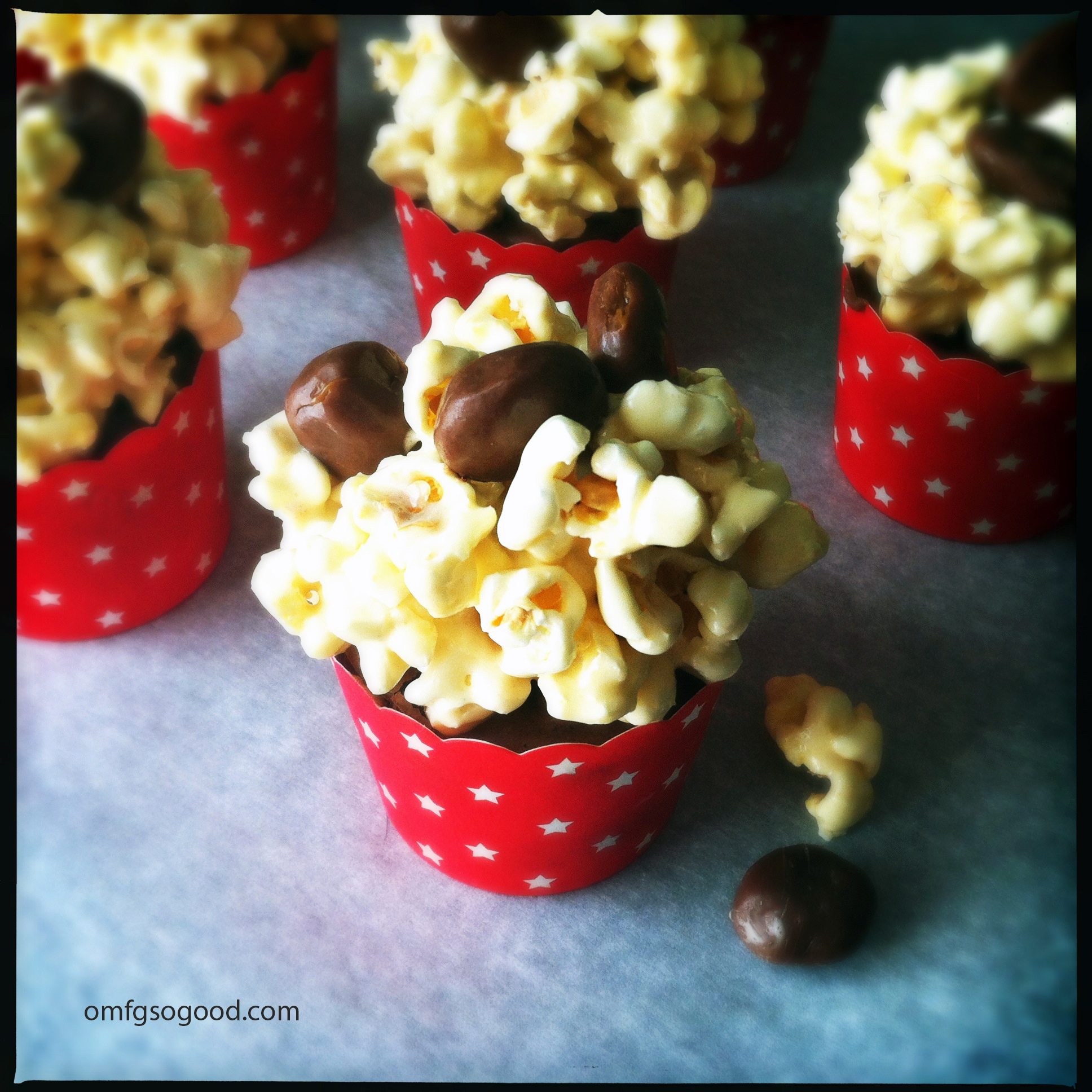 movie night brownie cups