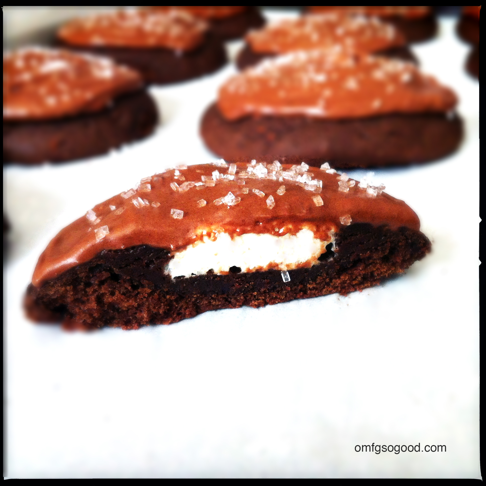 malted hot cocoacookies