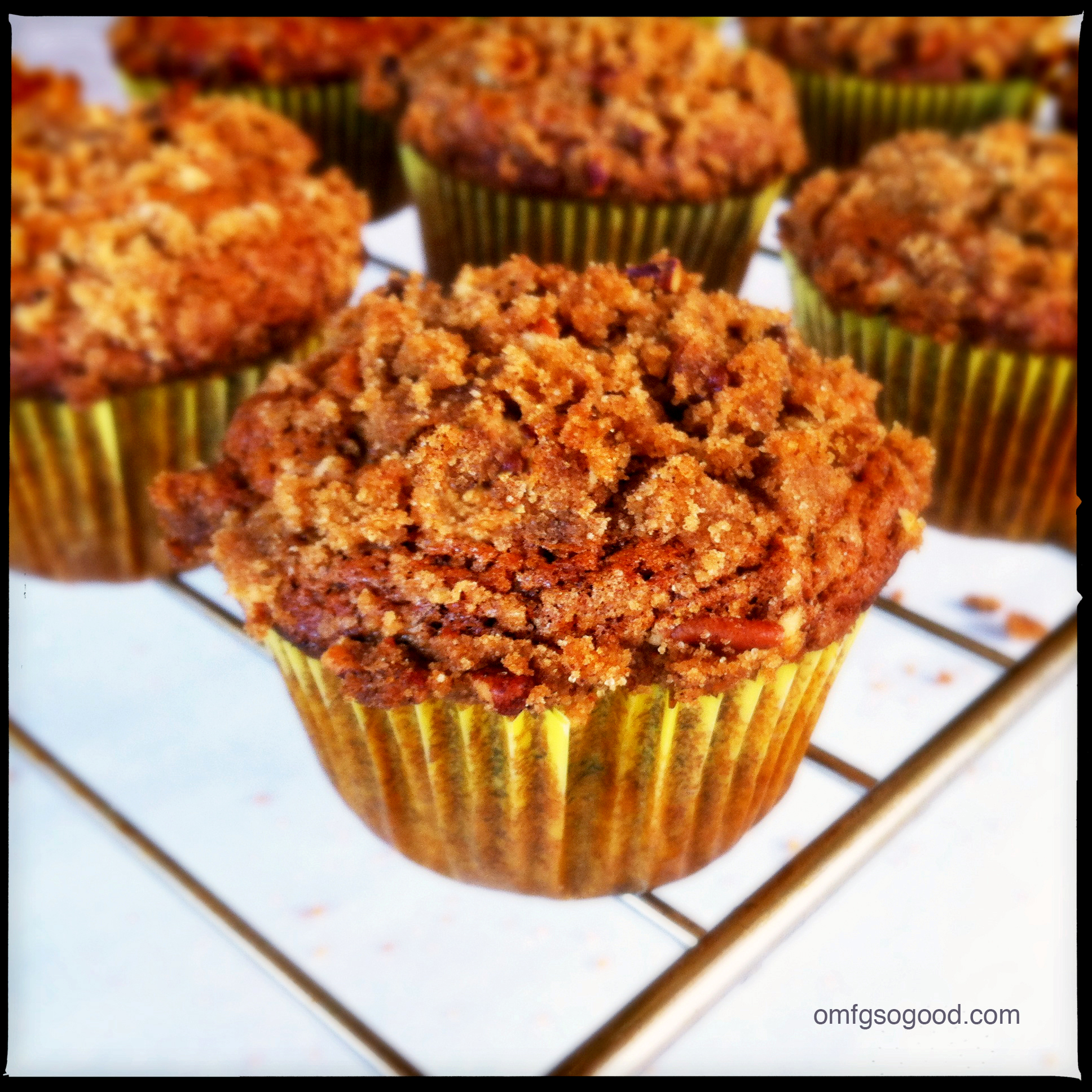 brown butter roasted bananamuffins