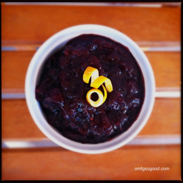 Chinese Five Spiced Cranberry Sauce