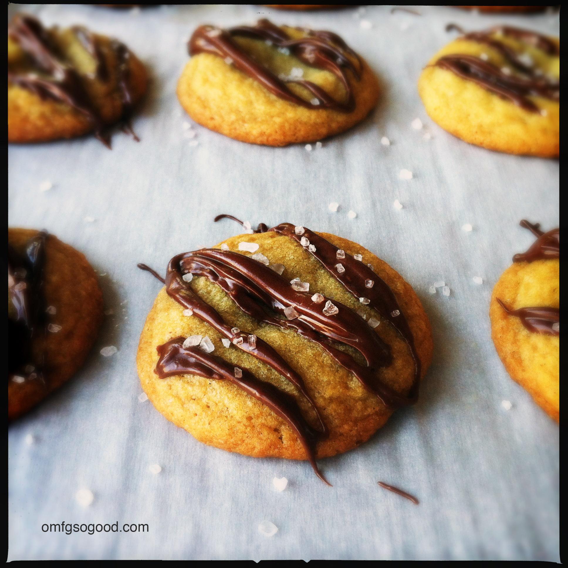 salted rolo cookiebites