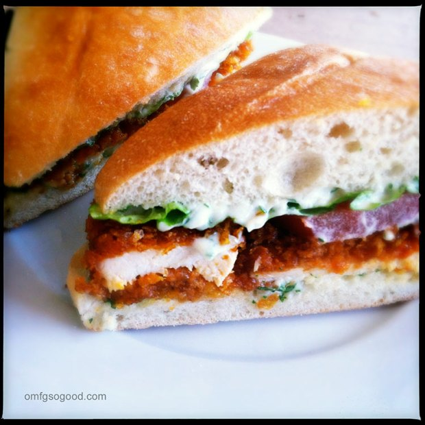 Corn-Flake-Buffalo-Chicken-Sandwiches-Fresh-Herb-Mayo-5