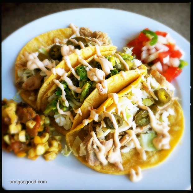 Chicken-Tacos-with-Chipotle-Crema