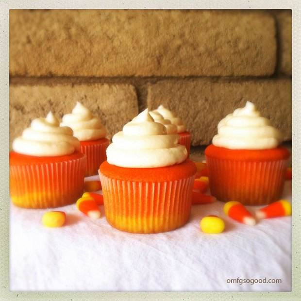 Candy-Corn-Cupcakes