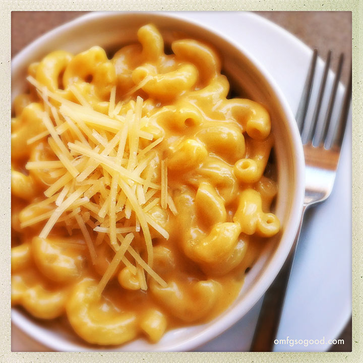 perfect stove top mac and cheese | omfg. so good.