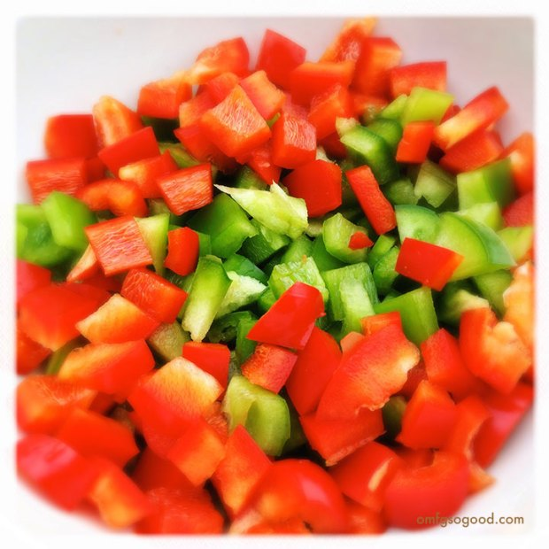 Red-and-Green-Peppers