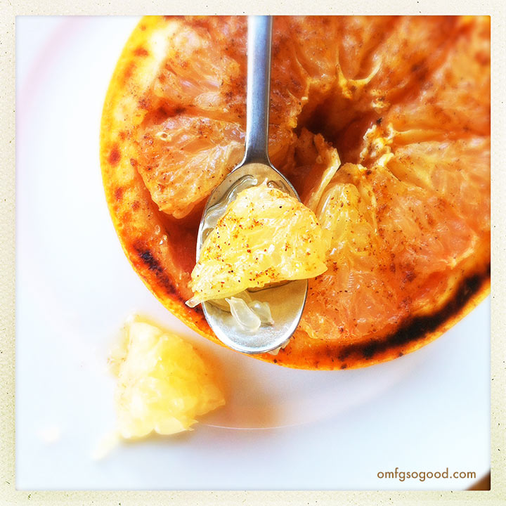 vanilla cardamom broiledgrapefruit