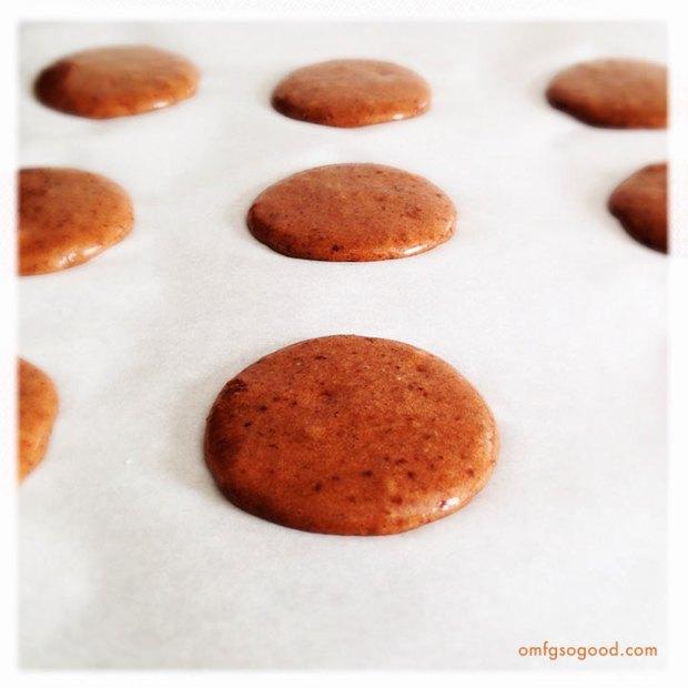 Chocolate-Cinnamon-Macarons-prebaked