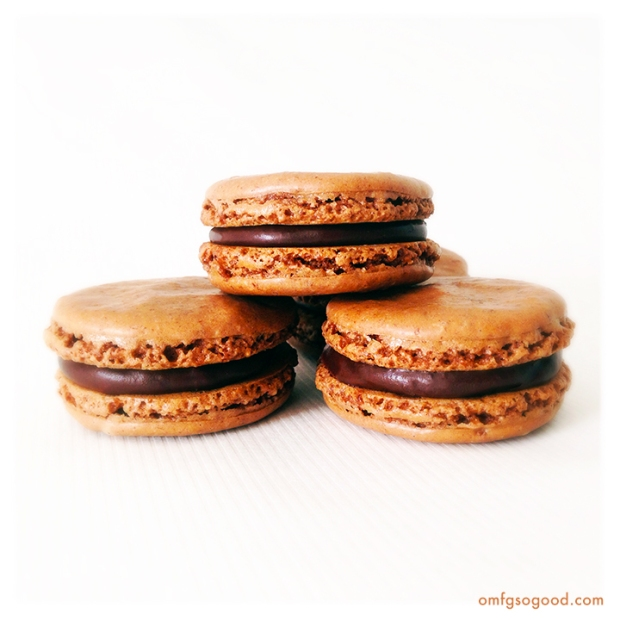 Chocolate-Cinnamon-Macarons