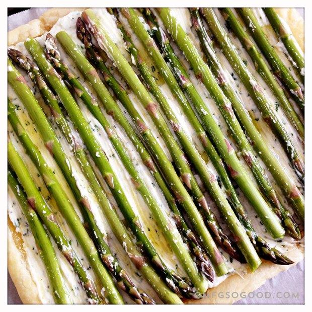 Asparagus-Pastry-Tart-
