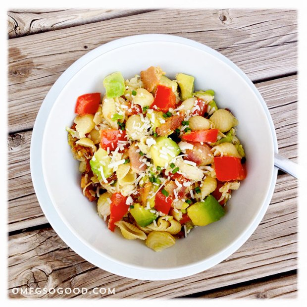 California-Club-Skillet-Pasta