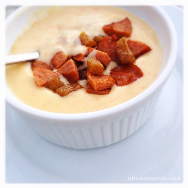 Cheese-Soup-with-Apples-and-Sausage-2