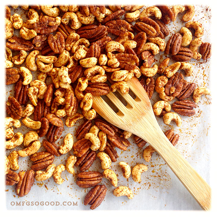 roasted taco seasoned mixed nuts